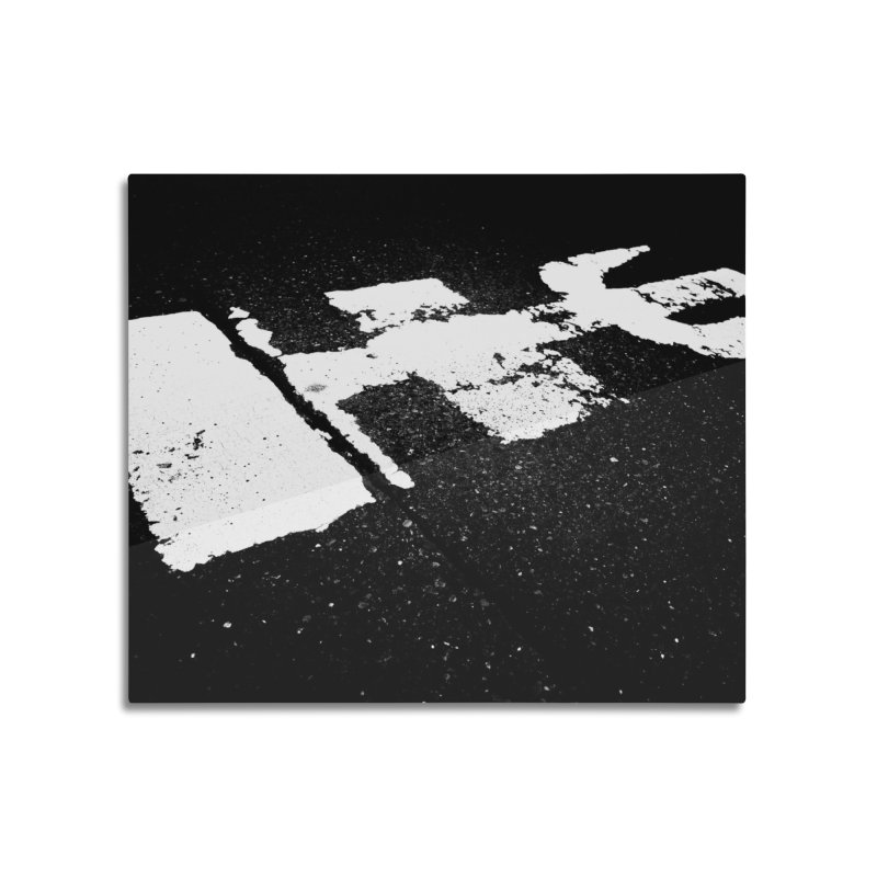 Ma Home Mounted Aluminum Print by Street Sheets