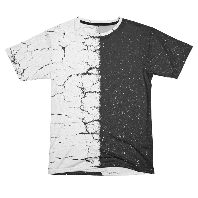 Hafu Women's Unisex French Terry T-Shirt Cut & Sew by Street Sheets