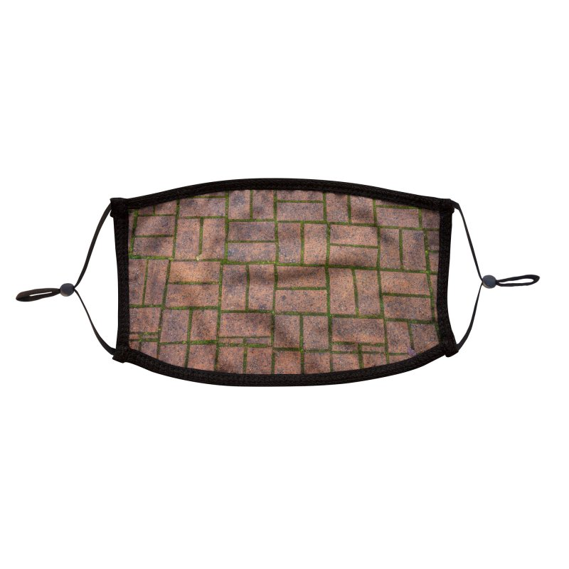 Bricks Accessories Face Mask by Street Sheets