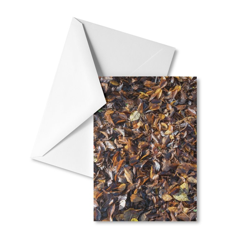 Leaves Accessories Greeting Card by Street Sheets
