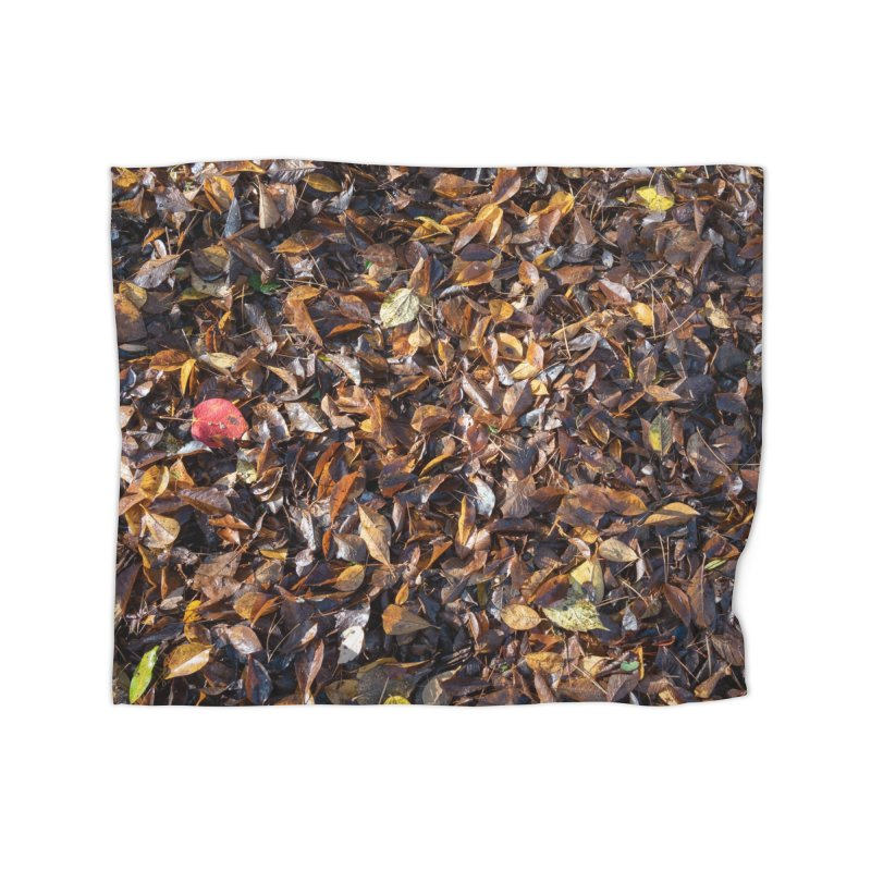Leaves Home Blanket by Street Sheets