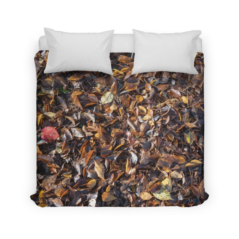 Leaves Home Duvet by Street Sheets