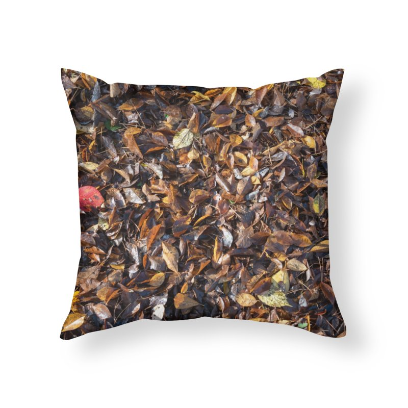 Leaves Home Throw Pillow by Street Sheets