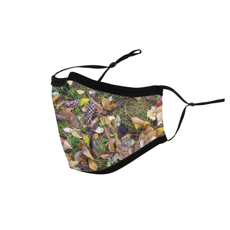 Pinecones Accessories Face Mask by Street Sheets