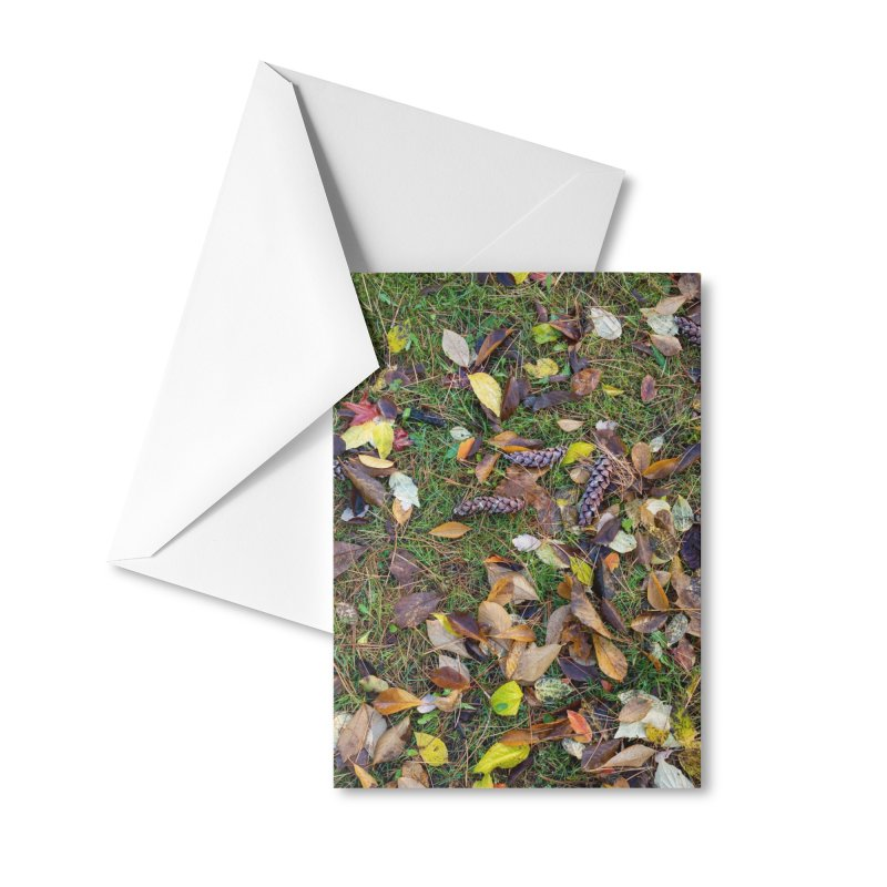 Pinecones Accessories Greeting Card by Street Sheets