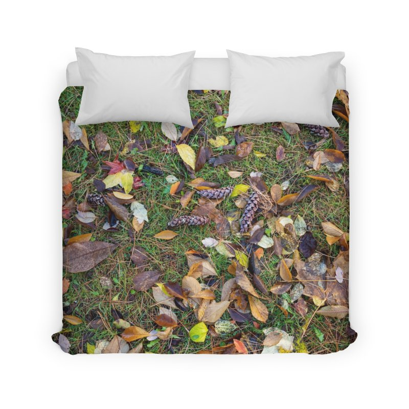 Pinecones Home Duvet by Street Sheets