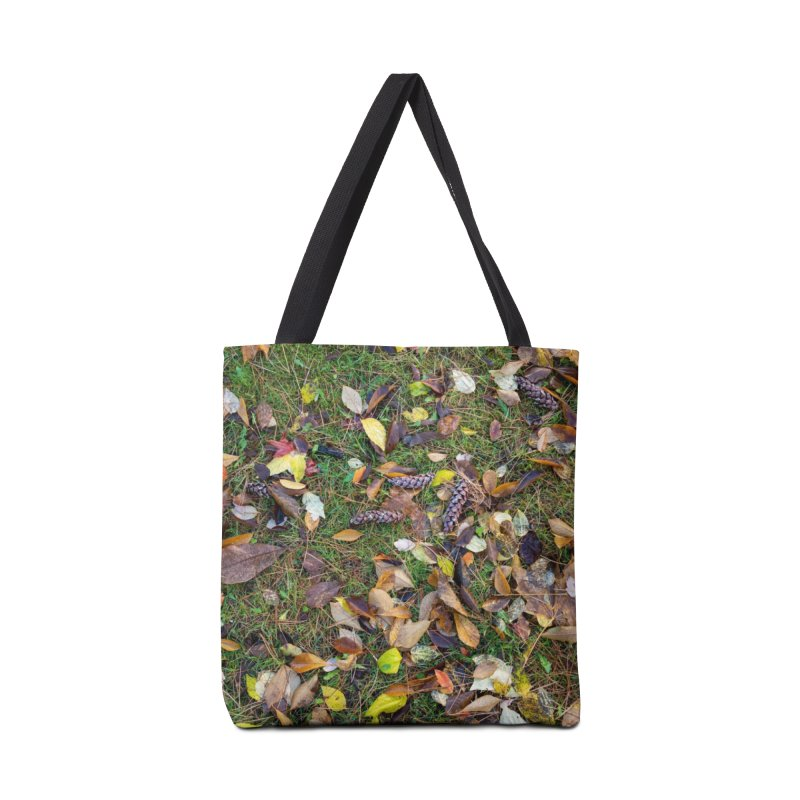 Pinecones Accessories Bag by Street Sheets