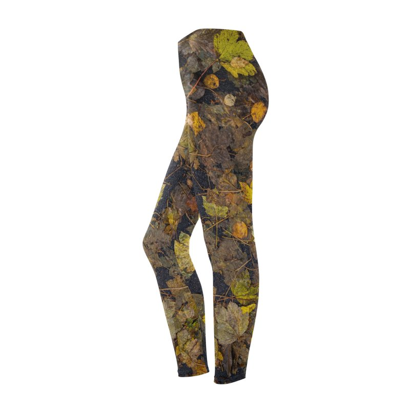 Wet Leaves Women's Bottoms by Street Sheets