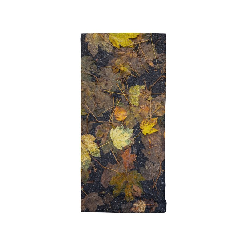 Wet Leaves Accessories Neck Gaiter by Street Sheets