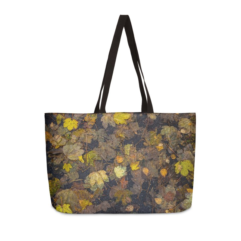 Wet Leaves Accessories Bag by Street Sheets