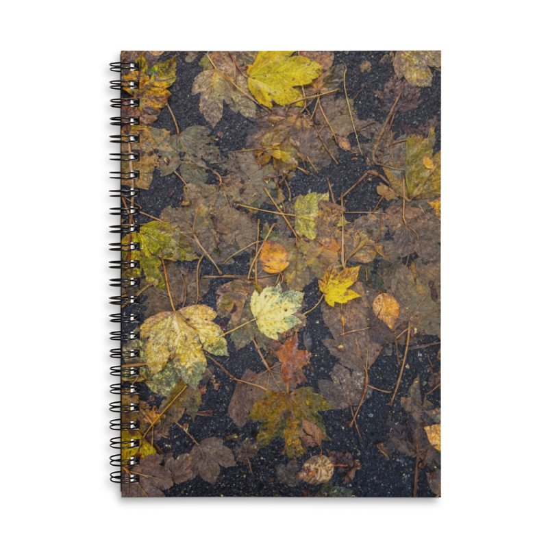Wet Leaves Accessories Notebook by Street Sheets