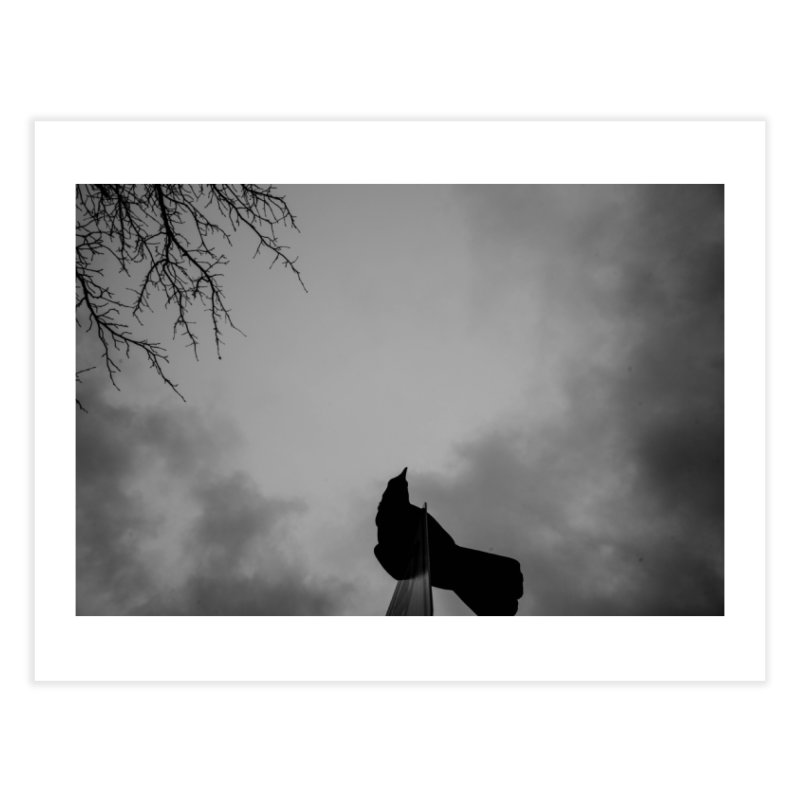 Crow Sky Home Fine Art Print by Street Sheets