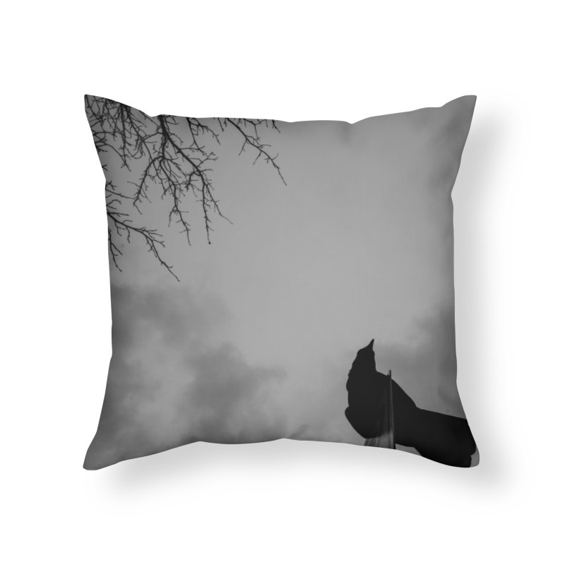Crow Sky Home Throw Pillow by Street Sheets