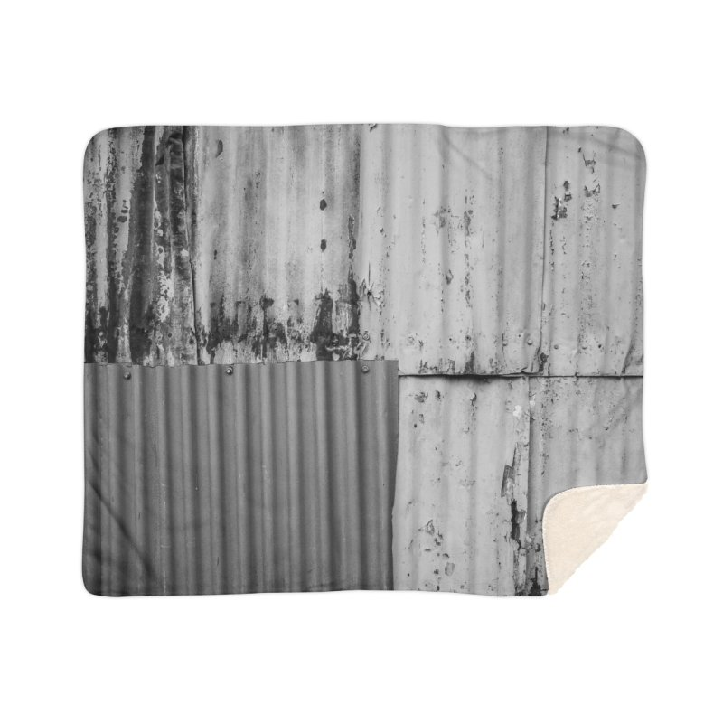 Metal Wall Home Blanket by Street Sheets