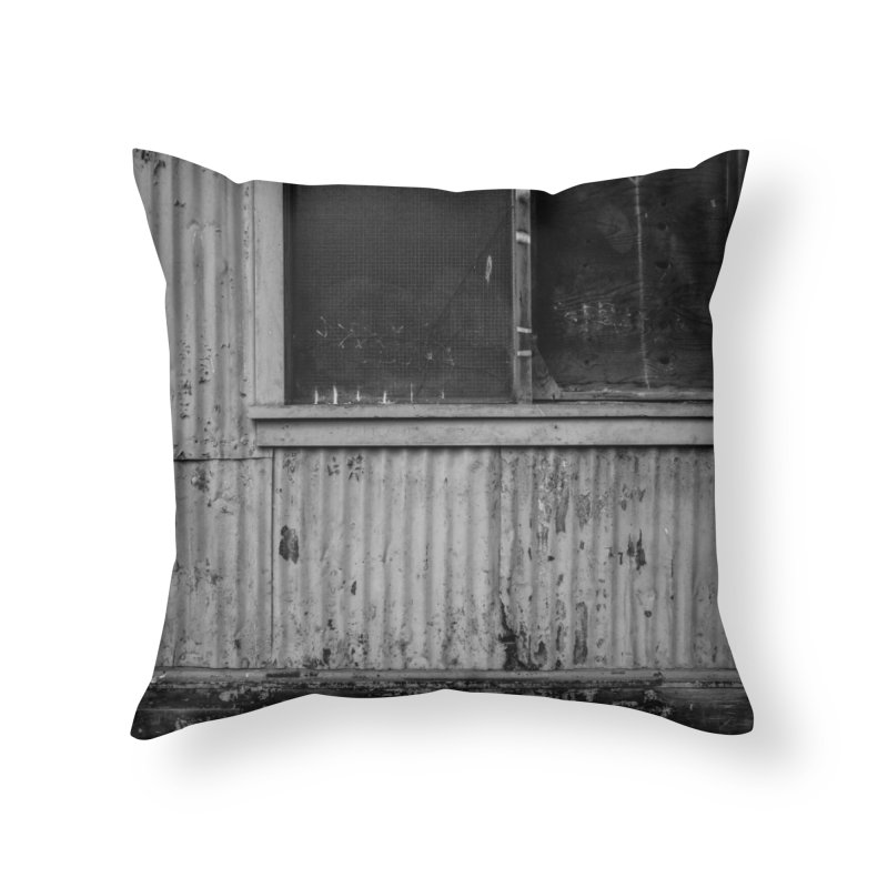 Window Home Throw Pillow by Street Sheets