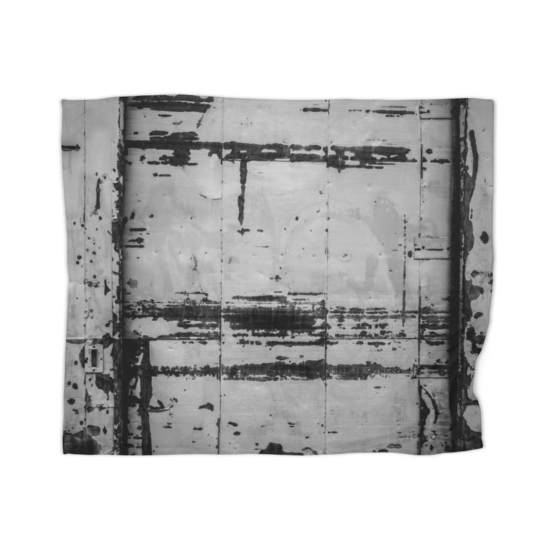 Rough Wall Home Blanket by Street Sheets