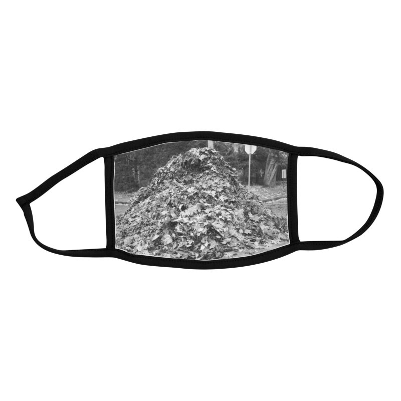 Leaf pile Accessories Face Mask by Street Sheets