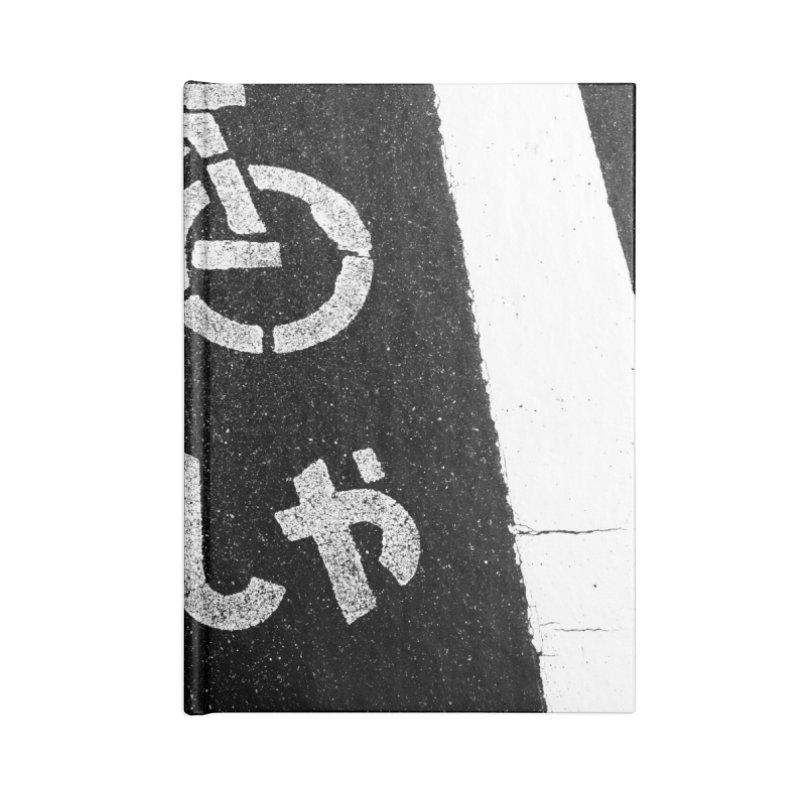 Jitensha Accessories Blank Journal Notebook by Street Sheets