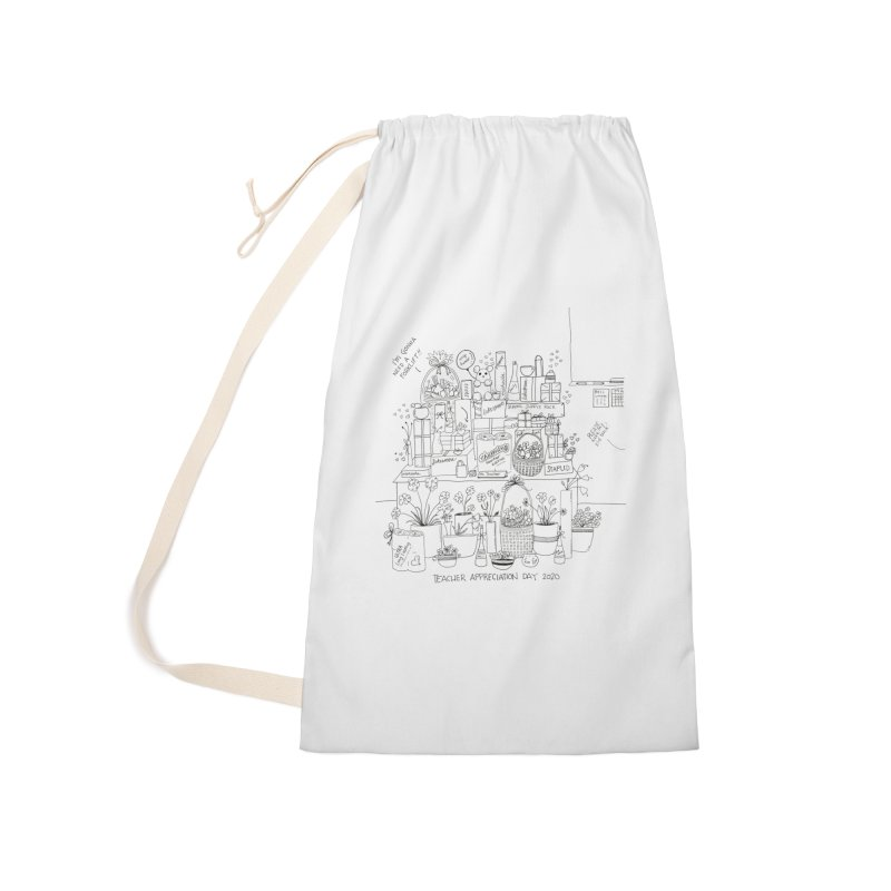 Teacher Appreciation Day 2020 (Mr) Accessories Bag by stresscartooning's Artist Shop