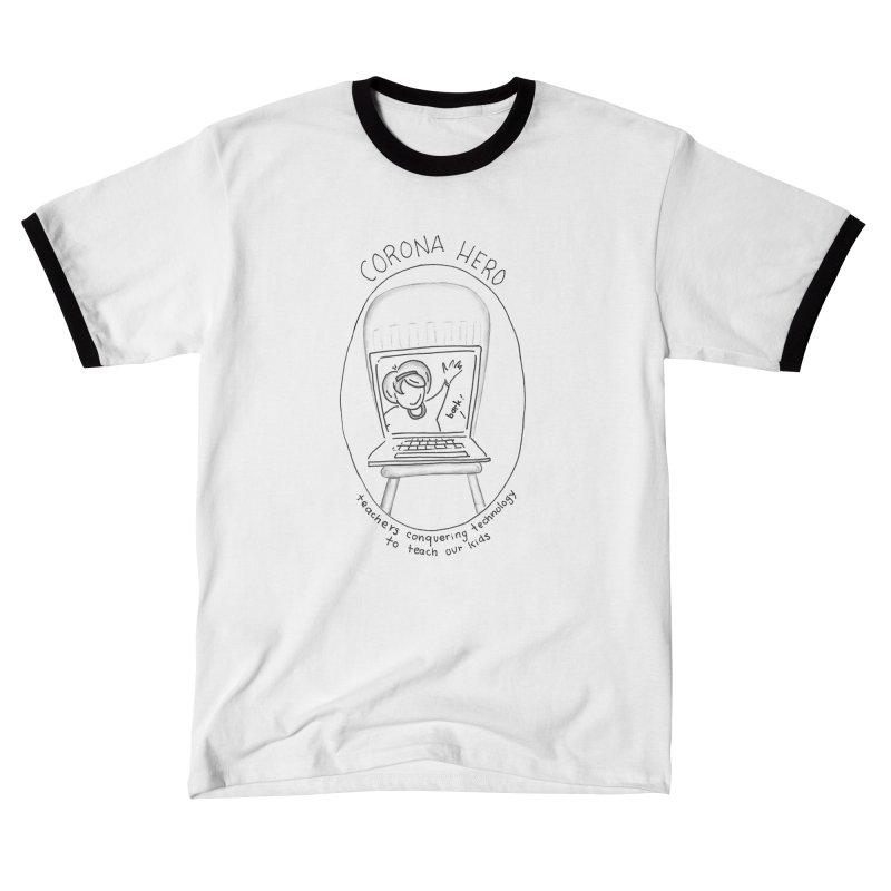 Teacher Hero Women's T-Shirt by stresscartooning's Artist Shop