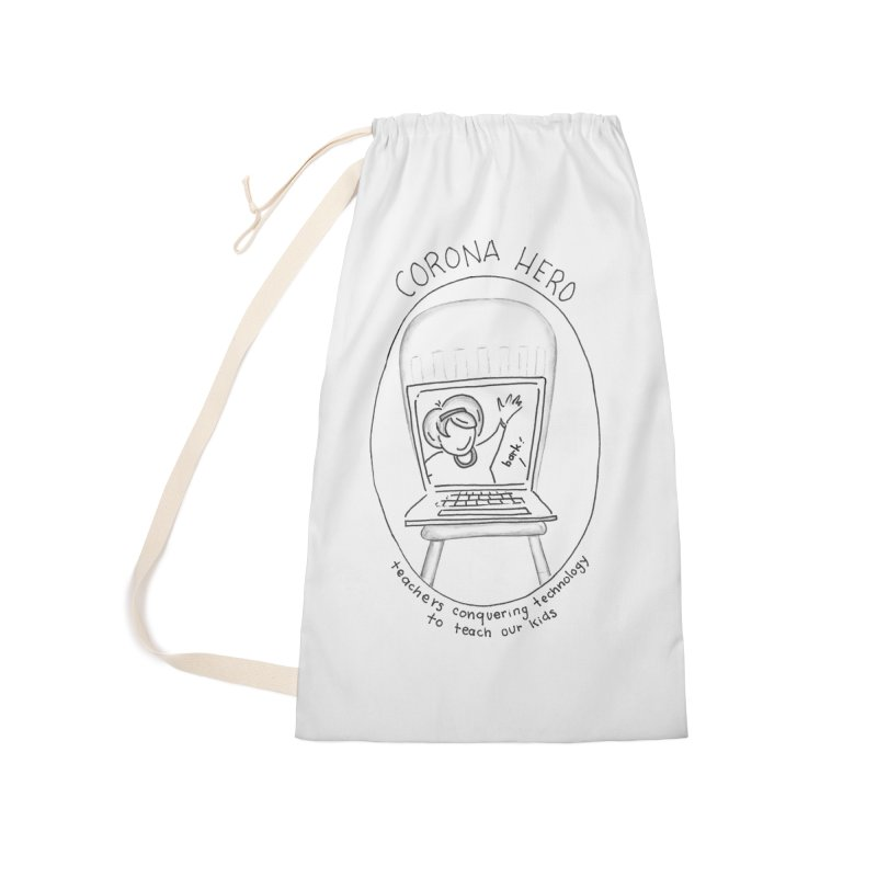 Teacher Hero Accessories Bag by stresscartooning's Artist Shop
