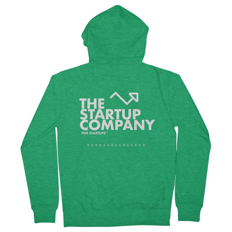 The Startup Company* Men's Zip-Up Hoody by STRIHS