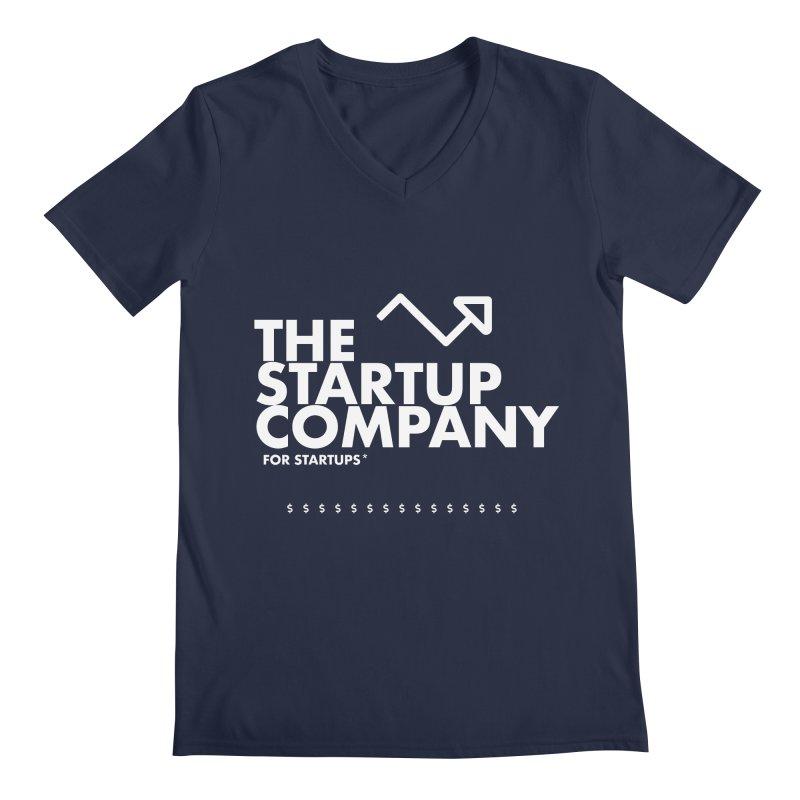 The Startup Company* Men's V-Neck by STRIHS