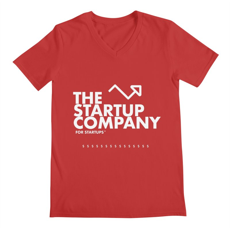The Startup Company* Men's V-Neck by STRIHS