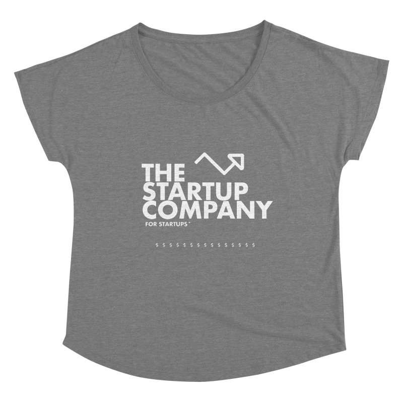 The Startup Company* Women's Scoop Neck by STRIHS