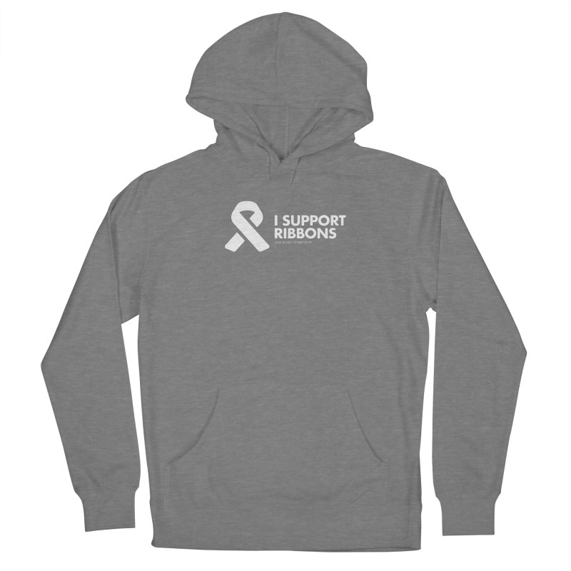 I Support Ribbons Women's Pullover Hoody by STRIHS