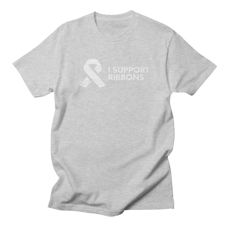 I Support Ribbons Men's T-Shirt by STRIHS