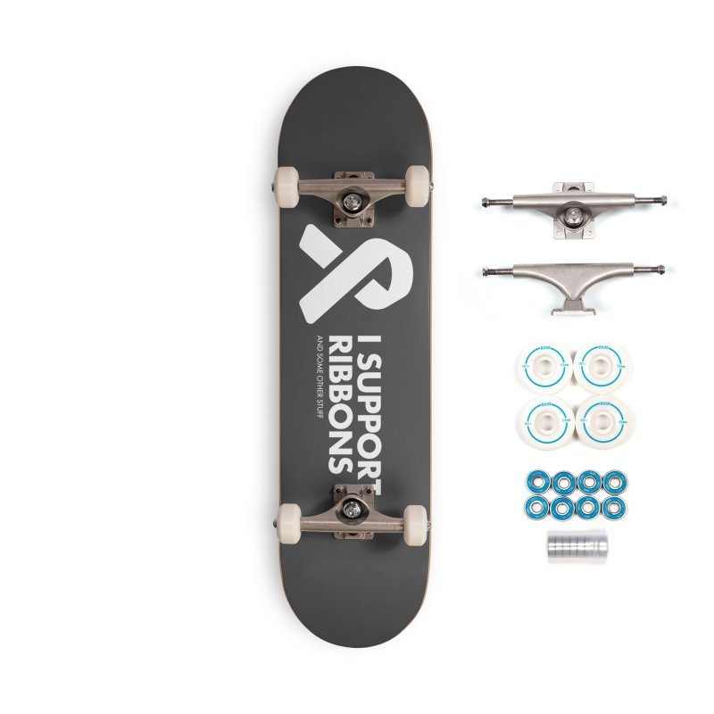 I Support Ribbons Accessories Skateboard by STRIHS