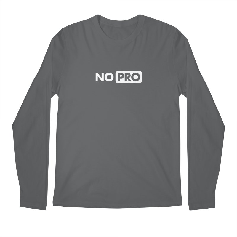 NO PRO Men's Longsleeve T-Shirt by STRIHS