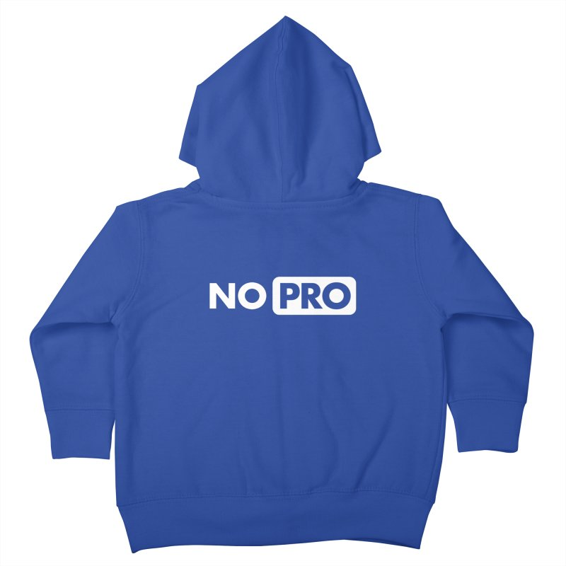 NO PRO Kids Toddler Zip-Up Hoody by STRIHS