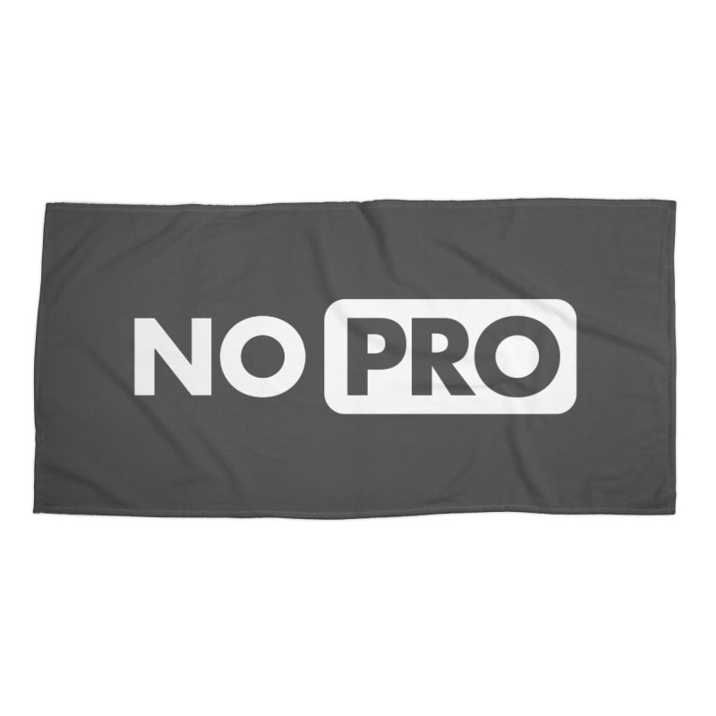 NO PRO Accessories Beach Towel by STRIHS