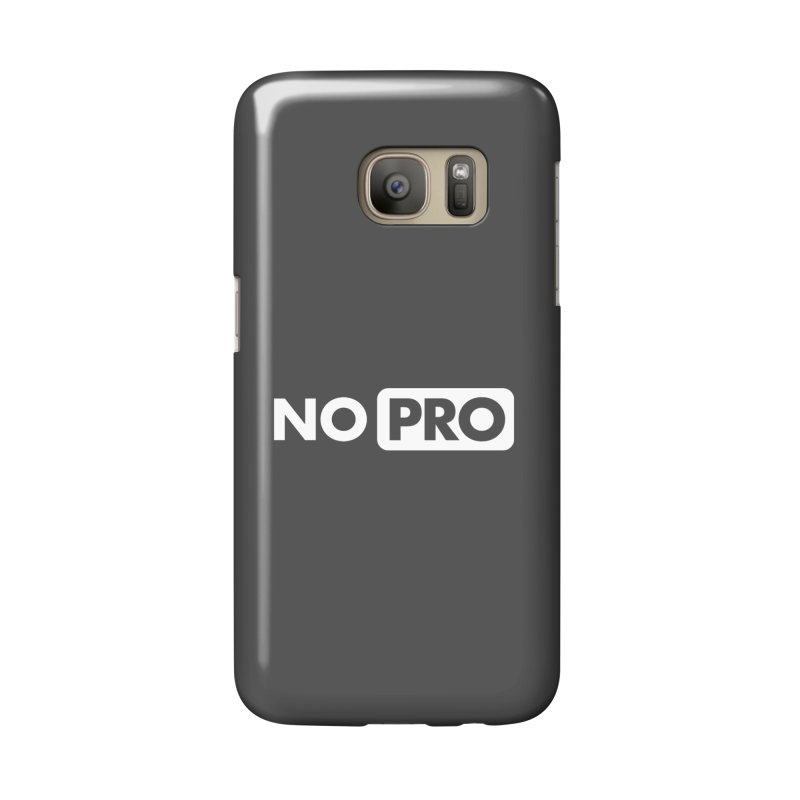 NO PRO Accessories Phone Case by STRIHS