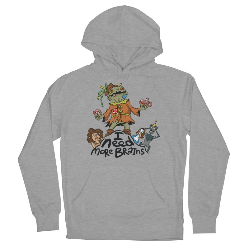 I need more brains Women's French Terry Pullover Hoody by Universe Postoffice