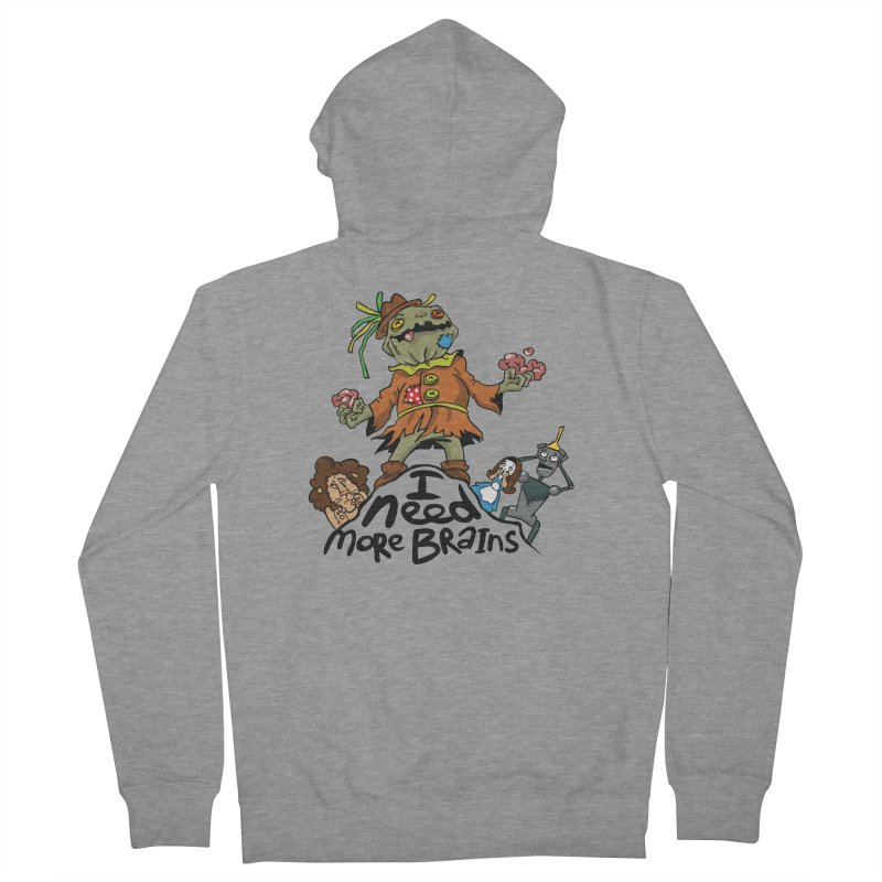 I need more brains Women's Zip-Up Hoody by Universe Postoffice