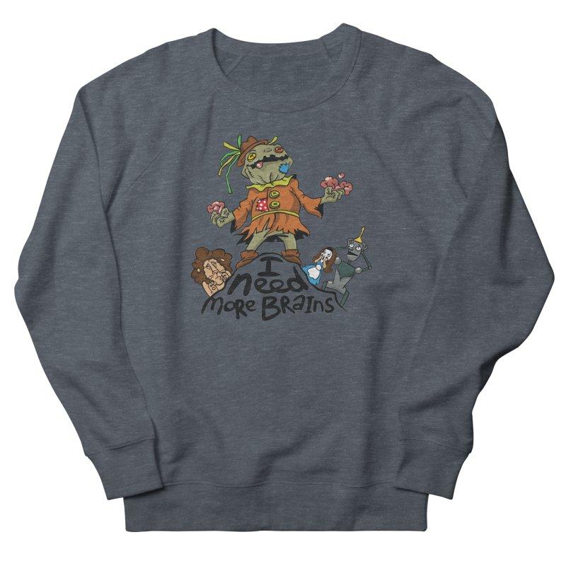 I need more brains Men's Sweatshirt by Universe Postoffice