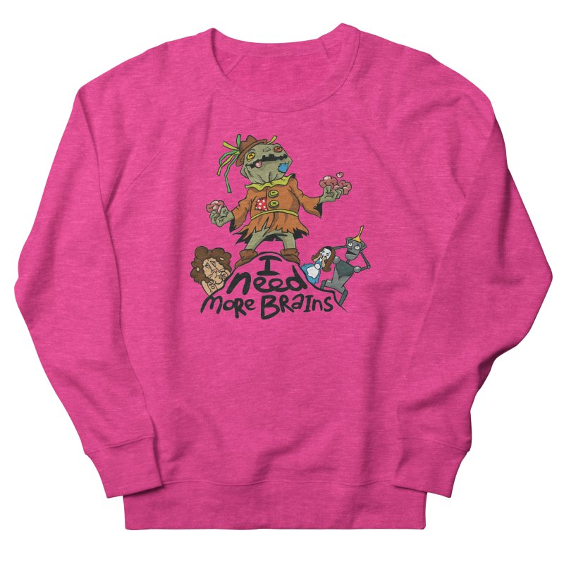 I need more brains Men's Sweatshirt by Universe Postoffice