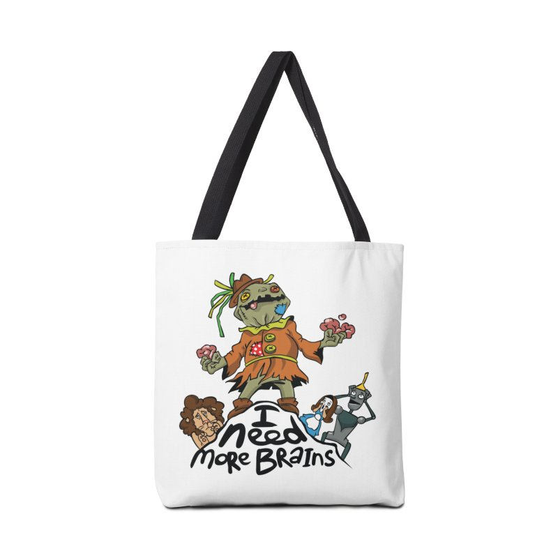 I need more brains Accessories Bag by Universe Postoffice