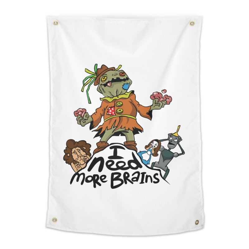 I need more brains Home Tapestry by Universe Postoffice