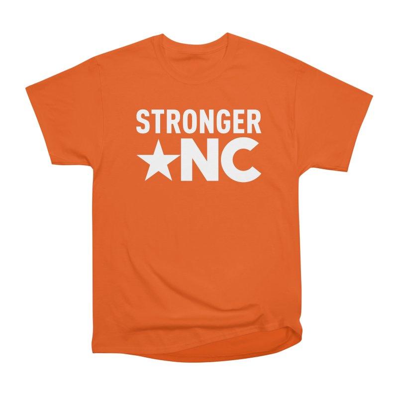 StrongerNC White Logo Women's T-Shirt by Stronger NC