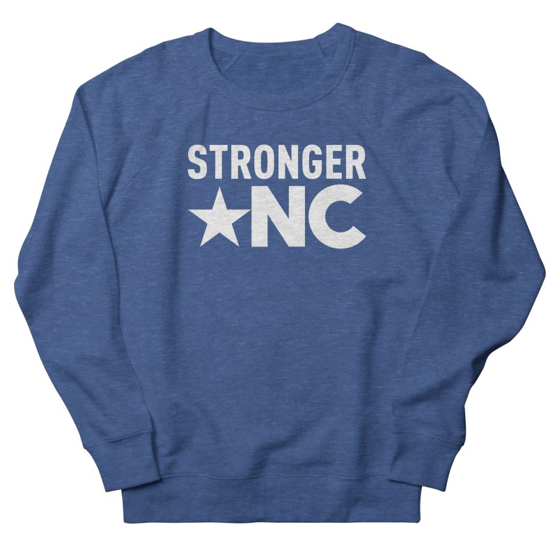 StrongerNC White Logo Men's Sweatshirt by Stronger NC