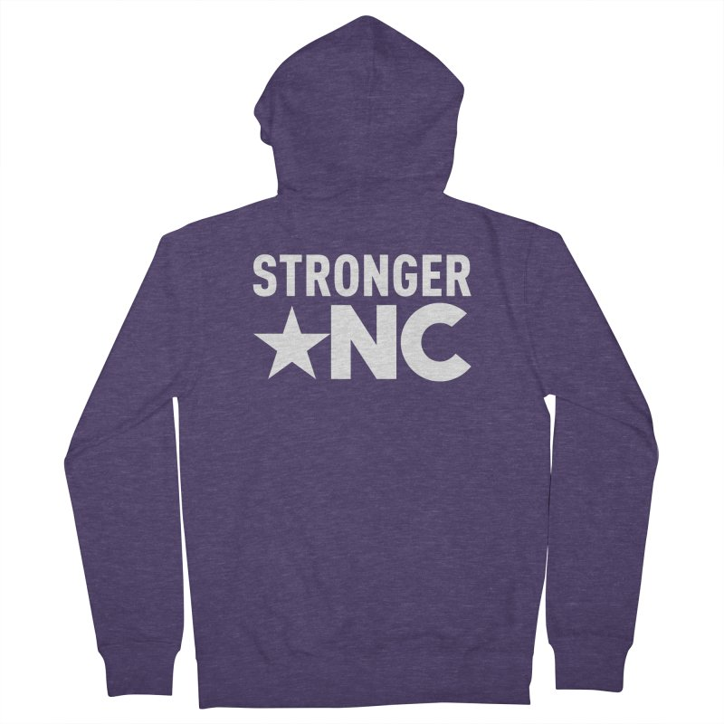 Stronger NC Logo Men's French Terry Zip-Up Hoody by Stronger NC