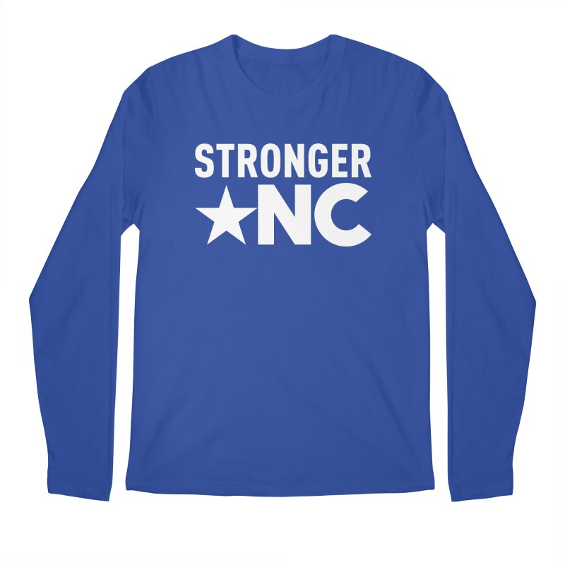 Stronger NC Logo Men's Regular Longsleeve T-Shirt by Stronger NC
