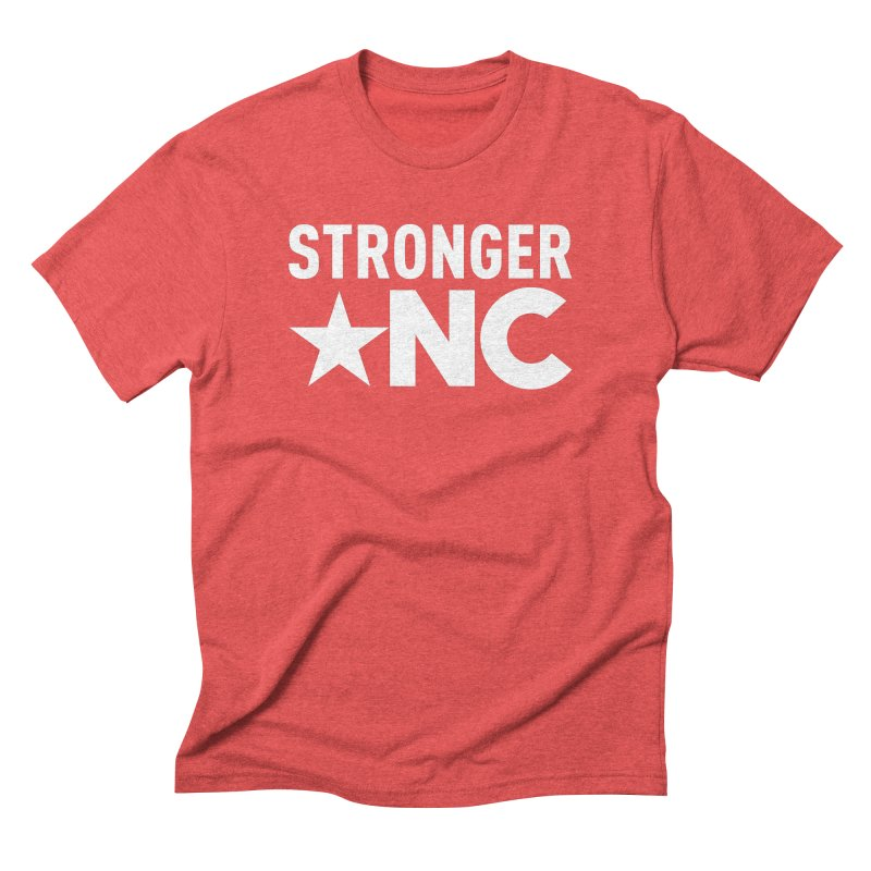 Stronger NC Logo Men's Triblend T-Shirt by Stronger NC