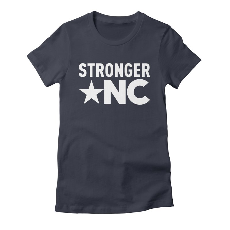 Stronger NC Logo Women's Fitted T-Shirt by Stronger NC