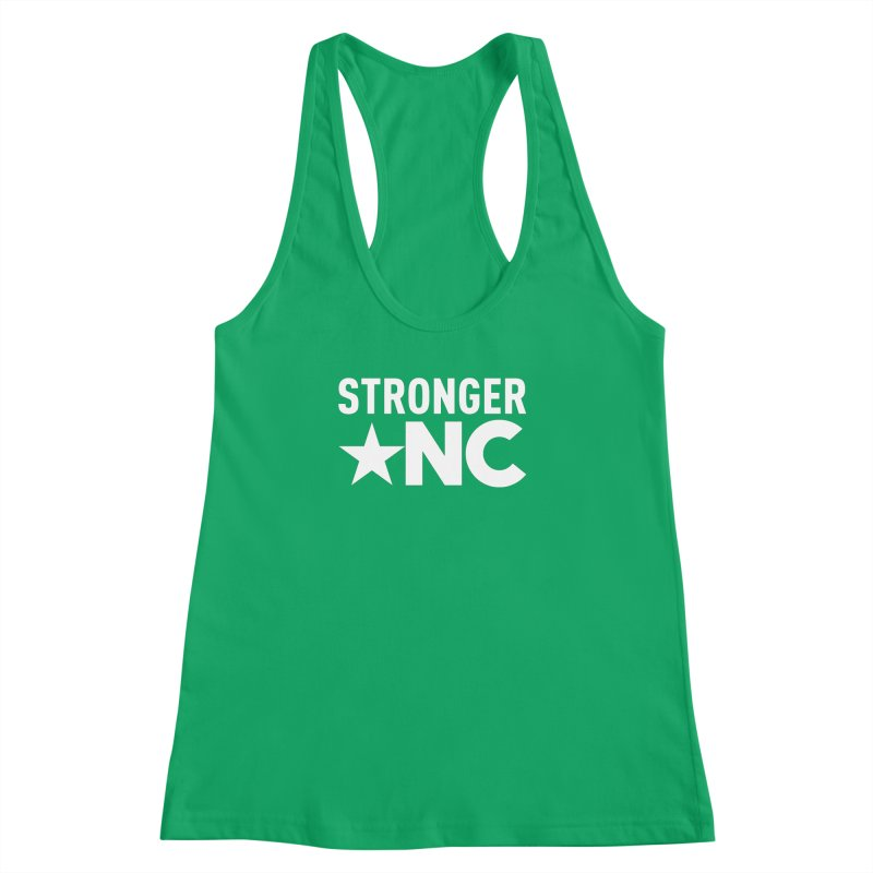 StrongerNC White Logo Women's Tank by Stronger NC