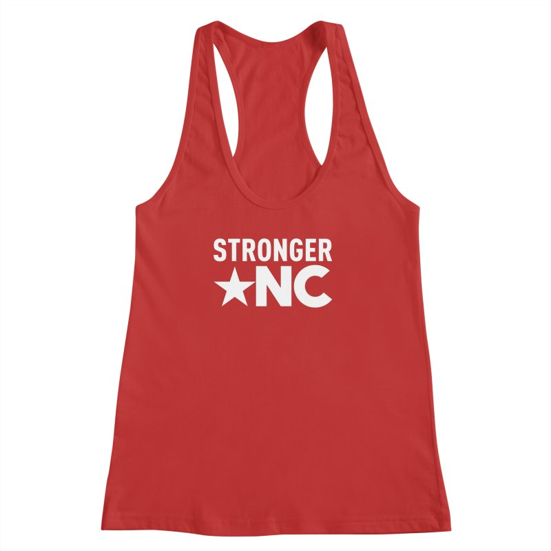Stronger NC Logo Women's Racerback Tank by Stronger NC